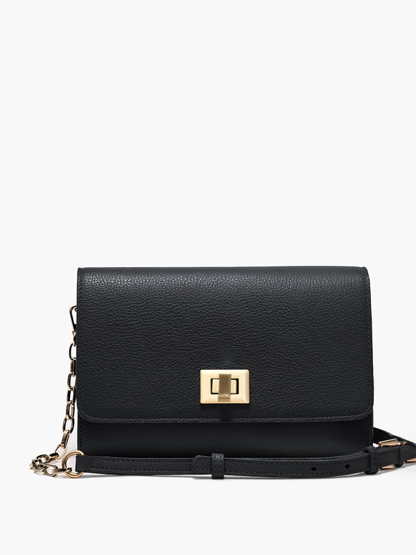 Meadow Crossbody Clutch, Black