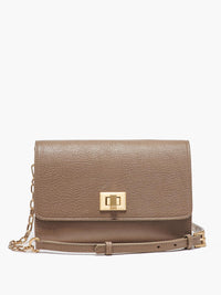 Meadow Crossbody Clutch, Taupe