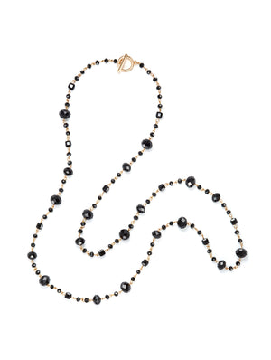 Scattered Bead Chain Necklace