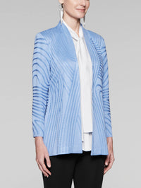 Jacquard Wave Jacket