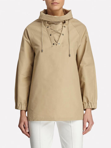 Laced Neck Anorak