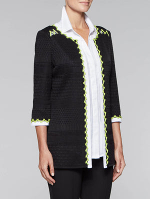 Cross Stitch Trim Jacket