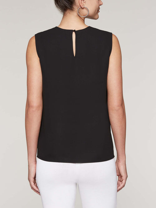 Knot Keyhole Tank Color Black
