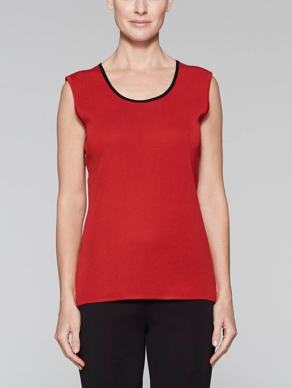 "Classic Red 25"" Tank with Black Trim"