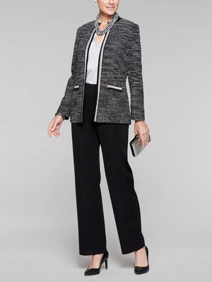 Lurex Tweed Jacket