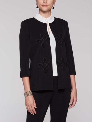 Swirl Trim Jacket
