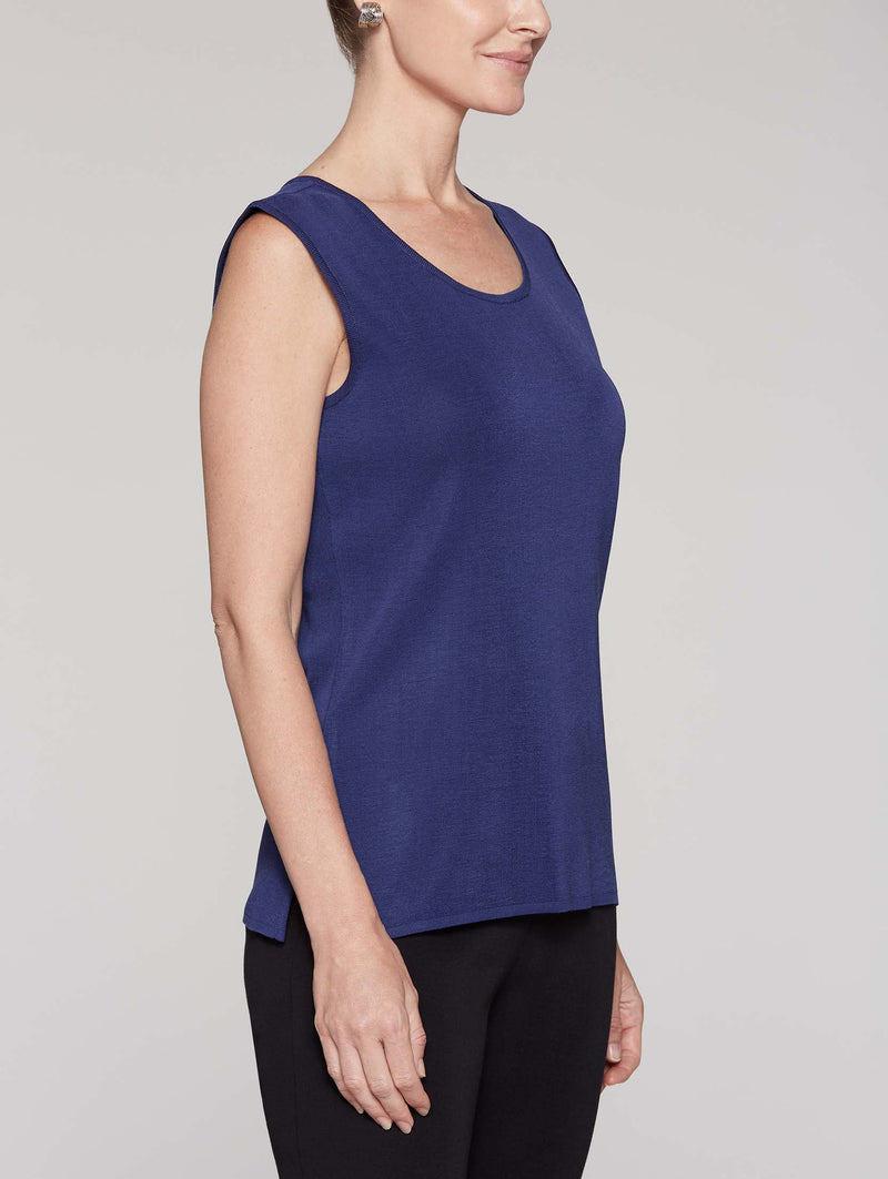 Mazarine Tank Color Mazarine Blue