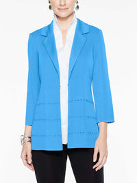 Polished Stud Detail Jacket