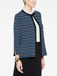 Mini Pattern Jacket Color China Blue/Blue Flame/Marble Grey