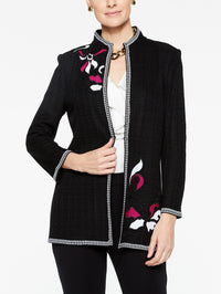 Floral Embroidery Jacket