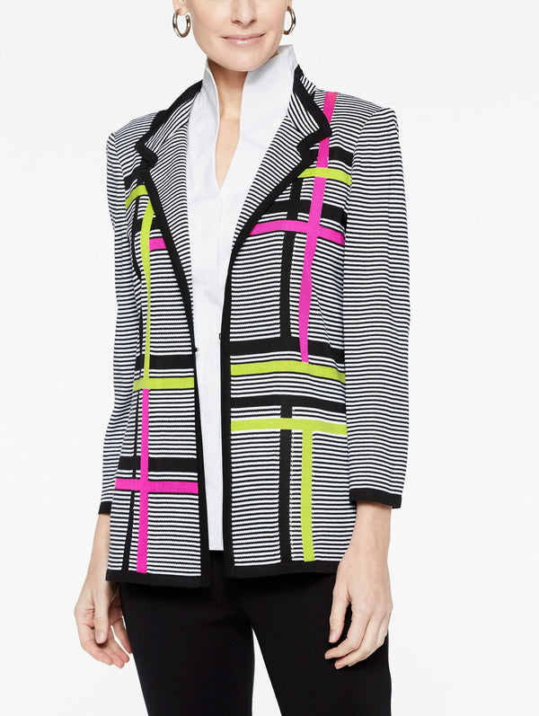 Graphic Stripe Jacket