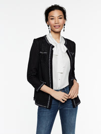Lace Pocket Jacket