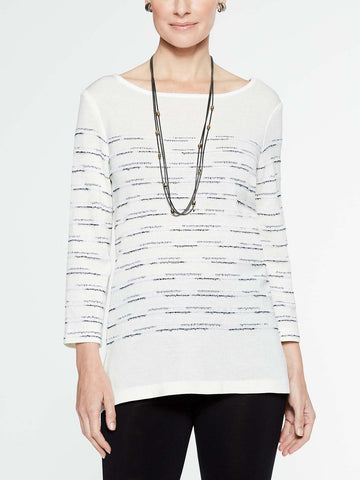 Striated Pattern Tunic