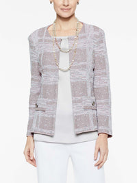 Moonscape Jacket Color Steel Grey/Sugar Pink/White