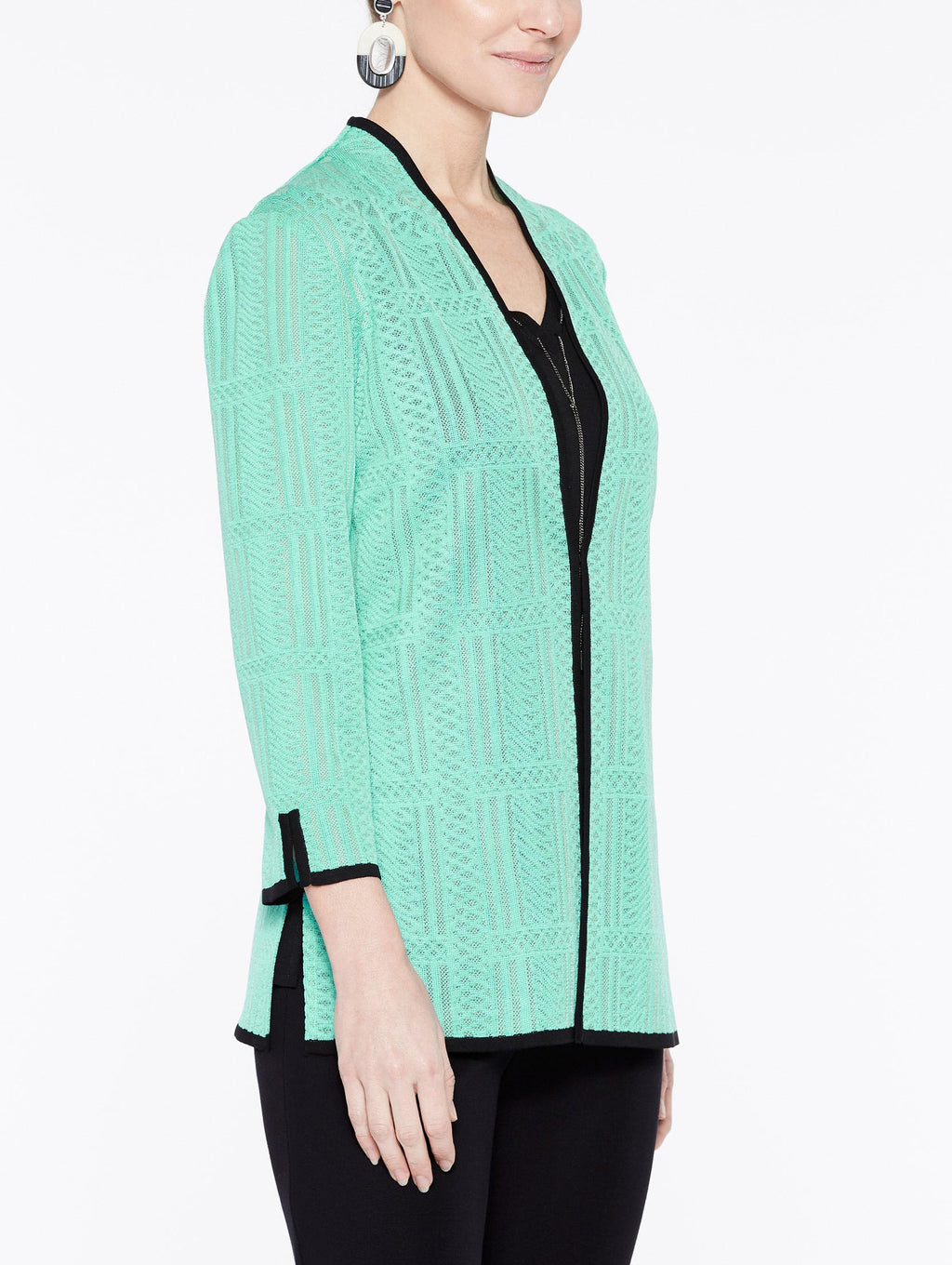 Soundwave Textured Jacket