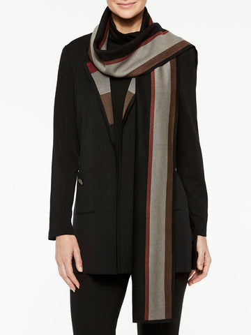 Doubleknit Jacket and Scarf