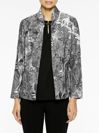 Tapestry Pattern Woven Jacket