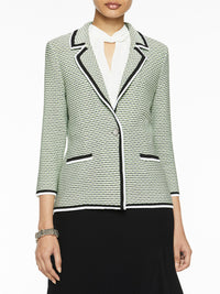 Multi-Stitch Textured Knit Blazer – Misook