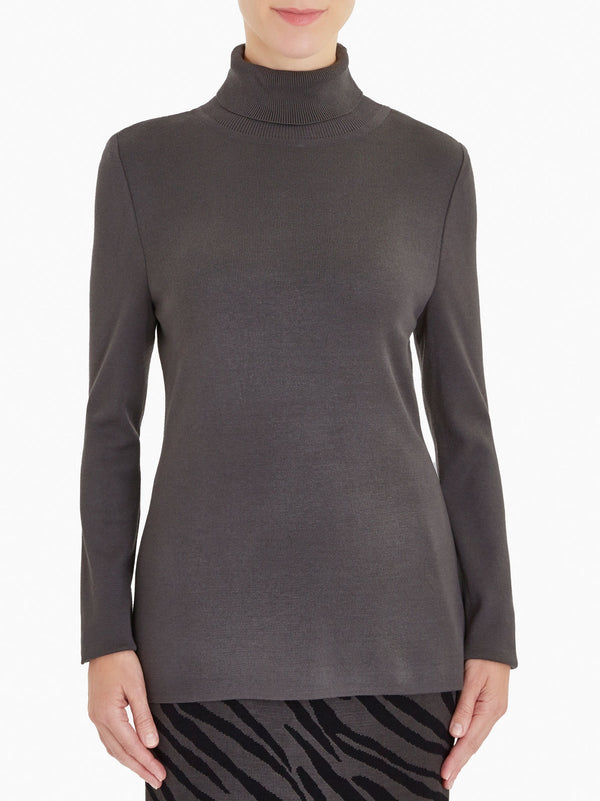 Long Sleeve Knit Turtleneck – Misook