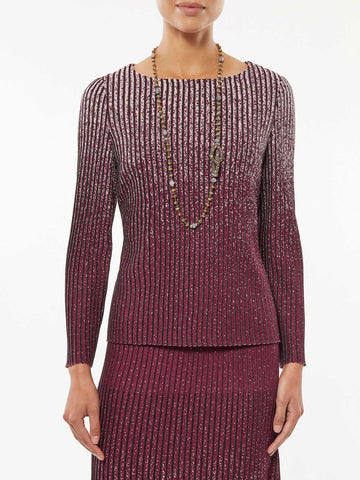 Shimmer Ombre Knit Tunic