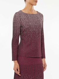 Shimmer Ombre Knit Tunic – Misook