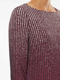Shimmer Ombre Knit Tunic – Premium Detail – Misook