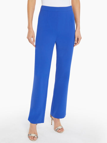 Straight Leg Crepe de Chine Soft Pant