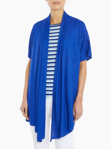 Relaxed Drape Knit Cardigan