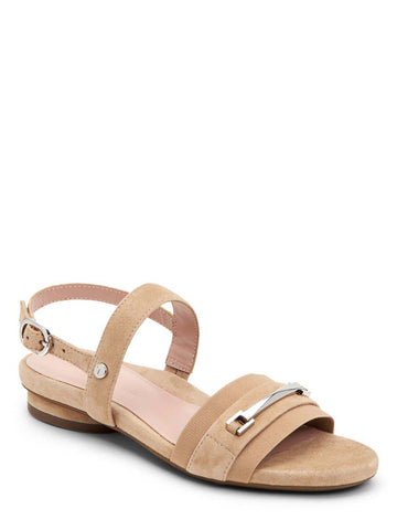 Taryn Rose Liliana Cappuccino Sandals