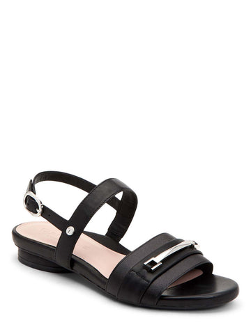 Taryn Rose Liliana Black Sandals