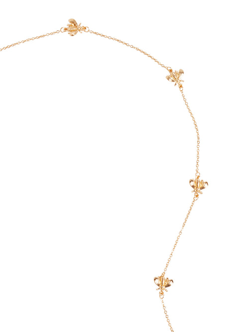 Gold Bee Accent Face Mask Chain – Misook