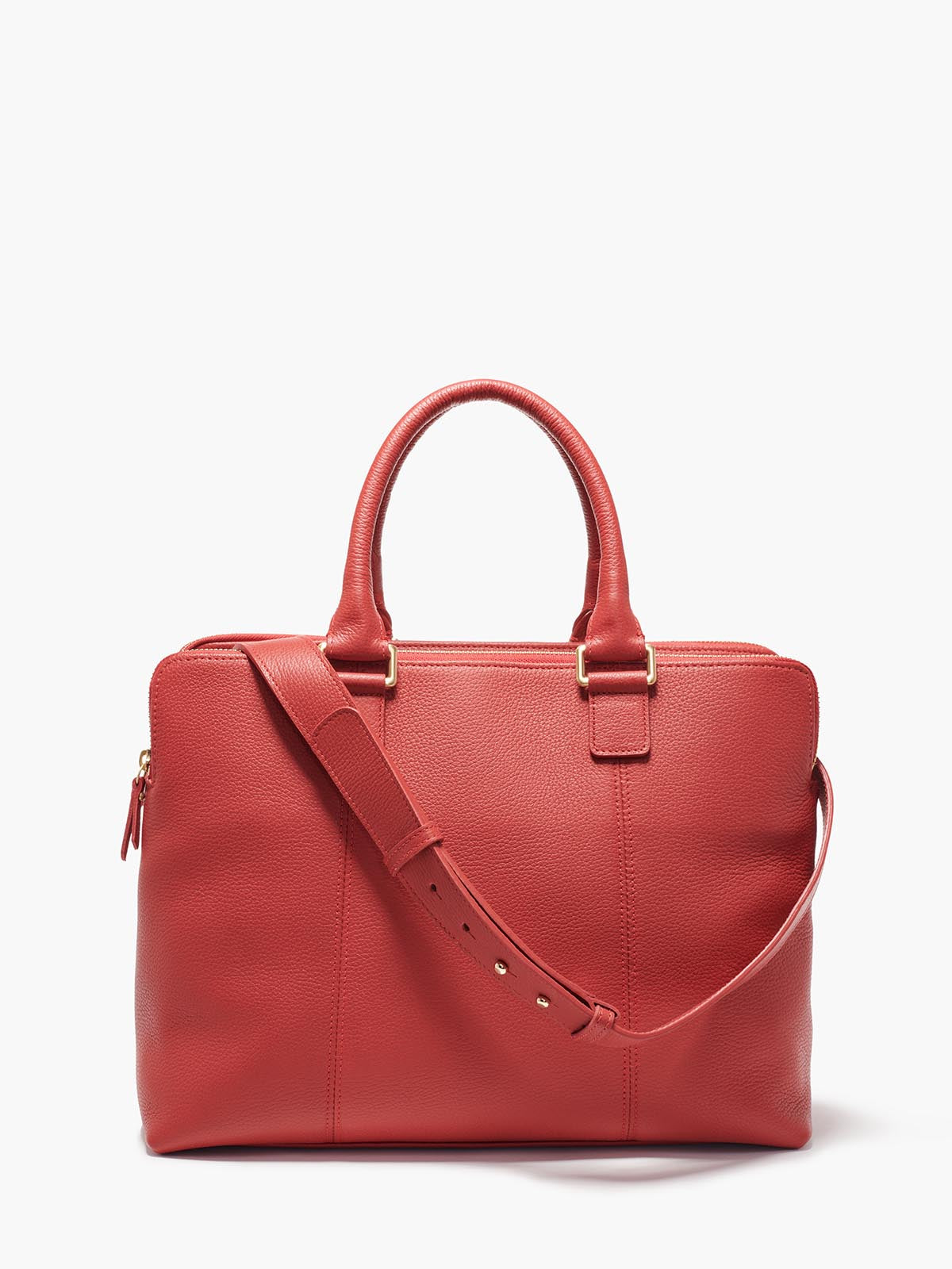 Hudson Satchel, Red