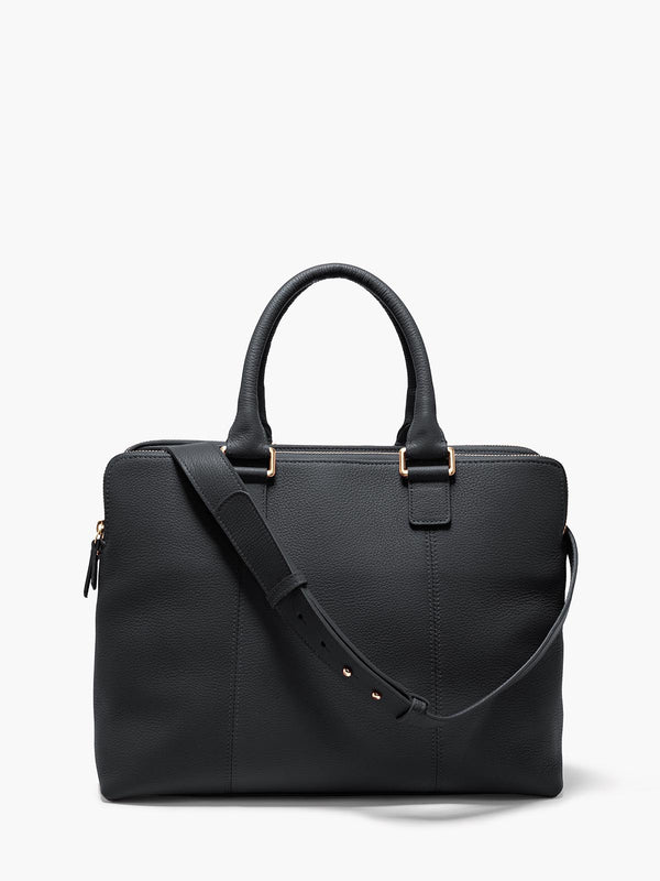 Hudson Satchel, Black