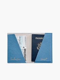 Passport Holder, Light Blue