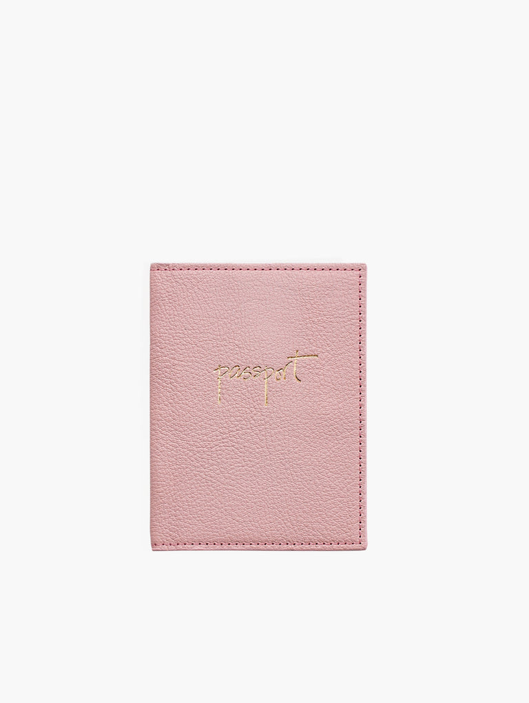 Passport Holder, Pink