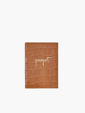 Passport Holder, Brown