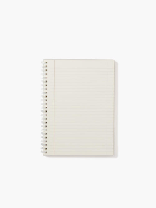 Premium Perforated Ivory Paper with Gold-Gilded Edges and Wire Spiral Binding; 7