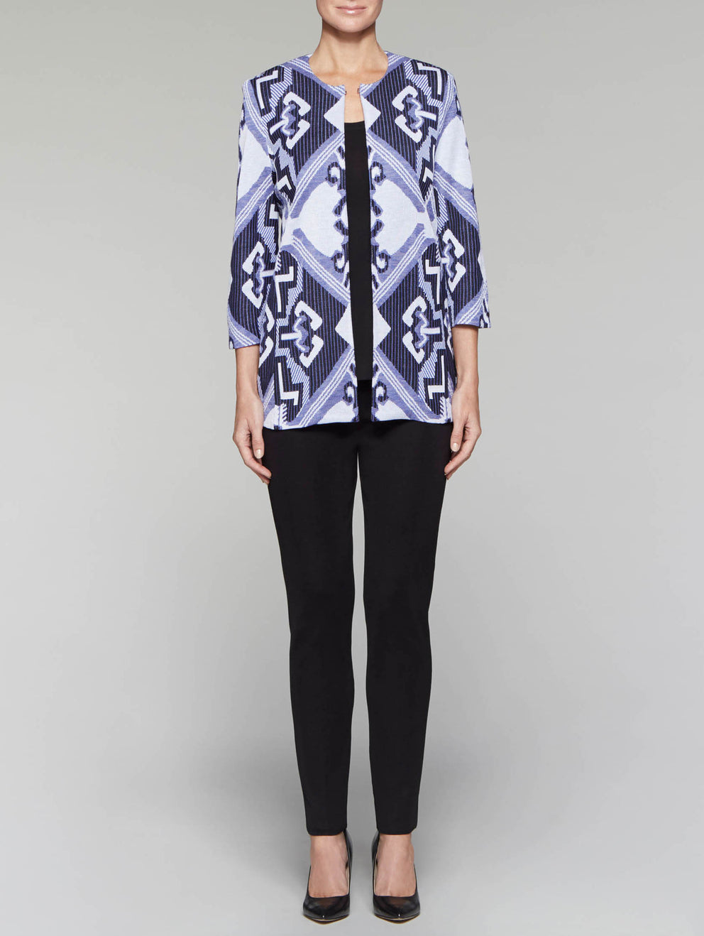 Mirrored Pattern Jacket