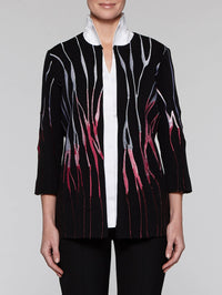 Flame Embroidered Jacket
