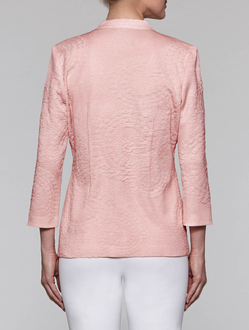 Blush Textured Jacket