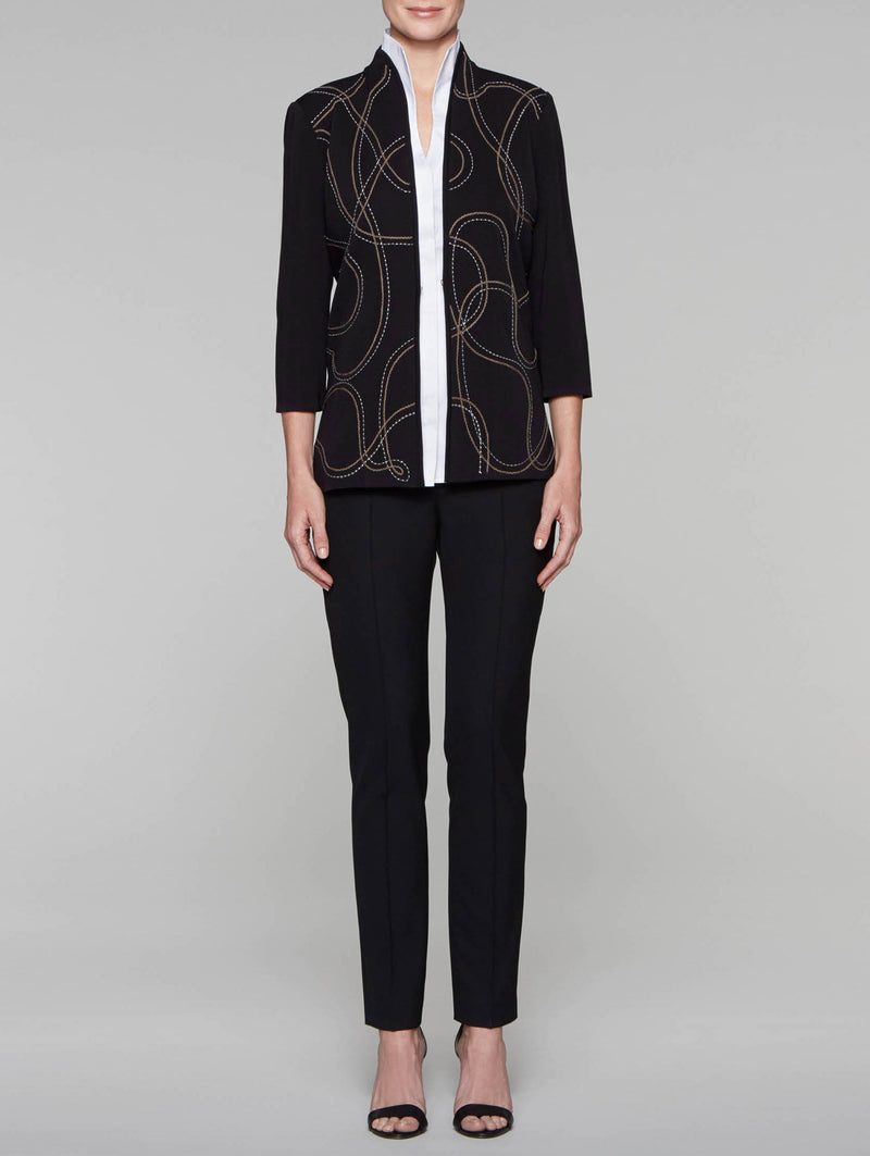 Lariat Embroidered Jacket