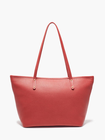 Bleecker Tote Bag, Red