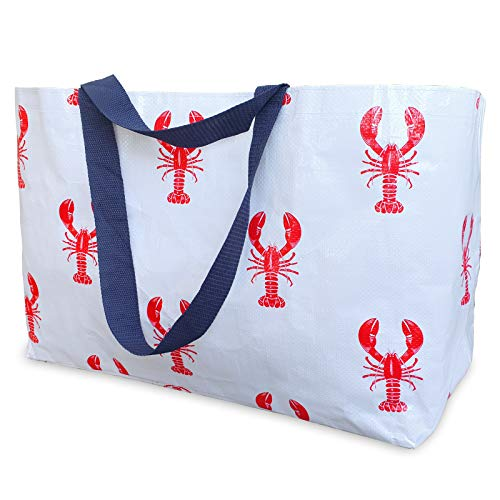 Reusable Tote Bag - Red Lobsters