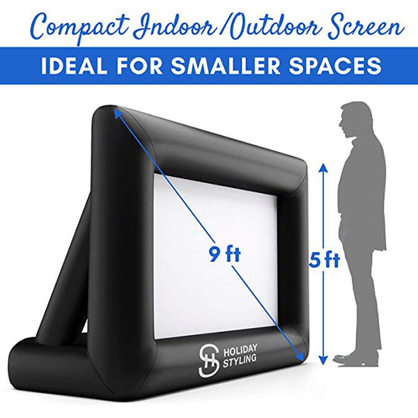 Inflatable Mini Movie Screen - 9ft Diagonal