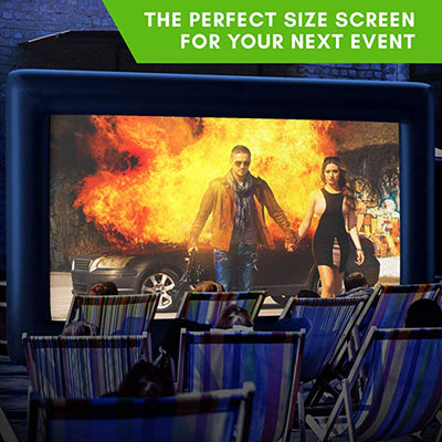Inflatable Movie Screen - 19ft Diagonal