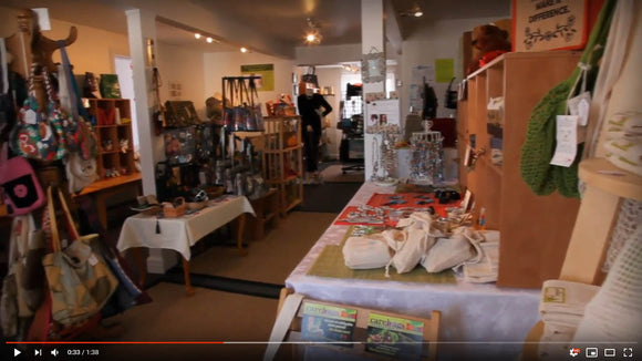 Check out our new video showcasing our store and especially the Envirosax bags!