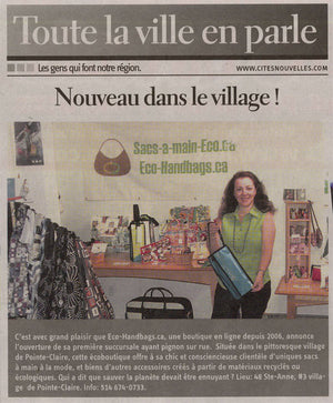 We made it on the Talk of the Town (Toute la ville en parle)
