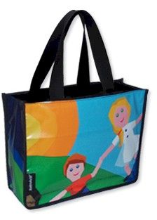 Salamina Open Tote Bag