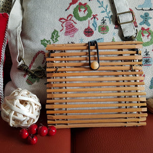 Chopstick Handbag - Small