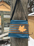 Cross-body Bag made from reclaimed upholstery (options)